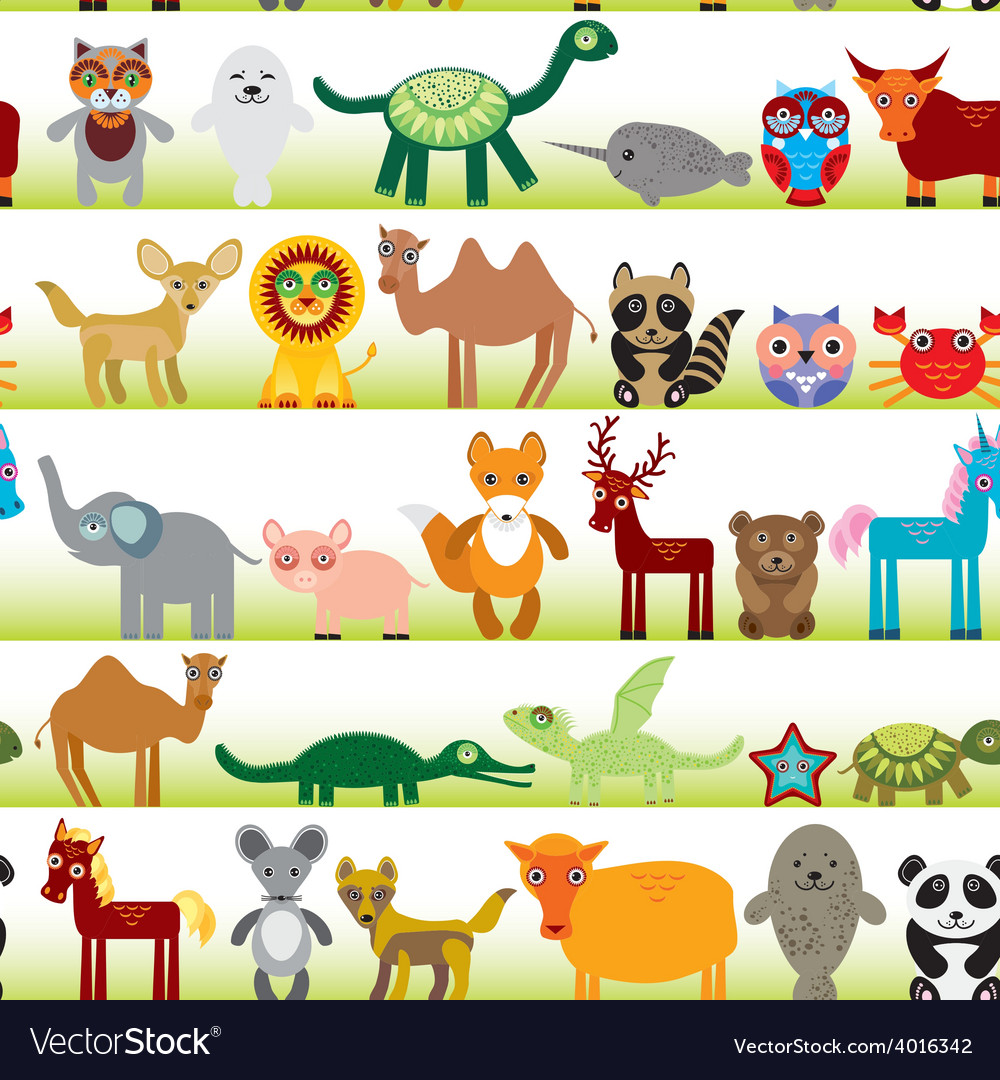 Animal cartoon characters images M : Cartoon Animal Memo Paper One Point Marker