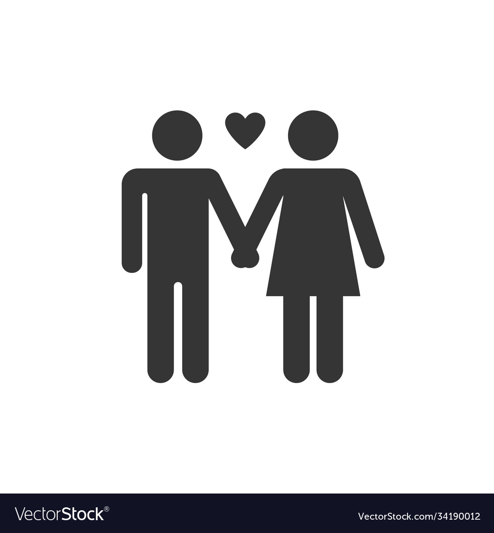 Marriage relationship icon images