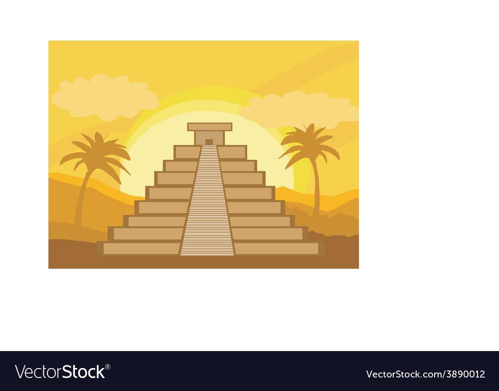 Maya Pyramid Chichen-Itza Mexico