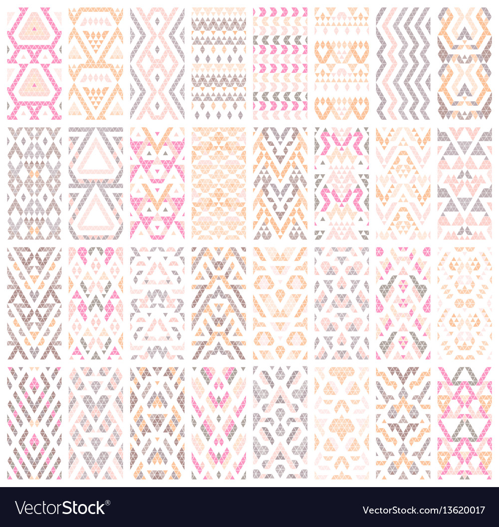 Set of 32 patterns