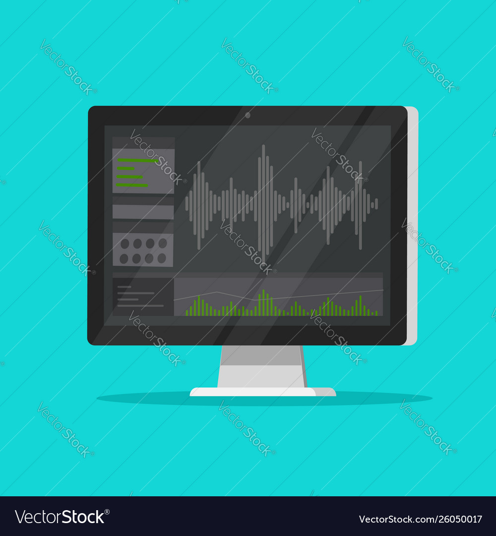 Sound or audio recorder or editor software on