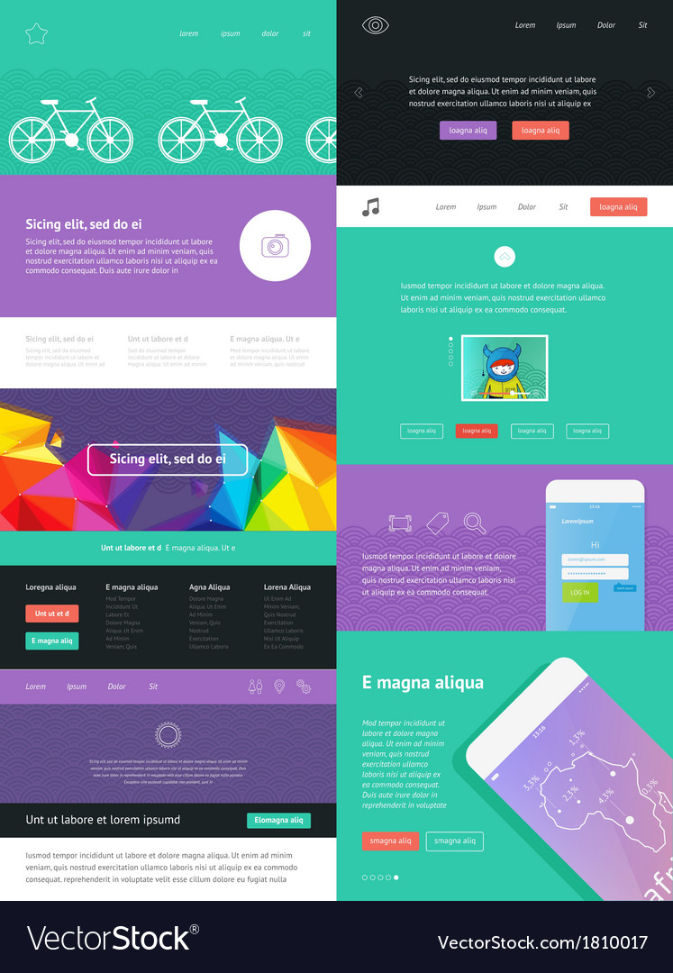 UI is a set of components featuring