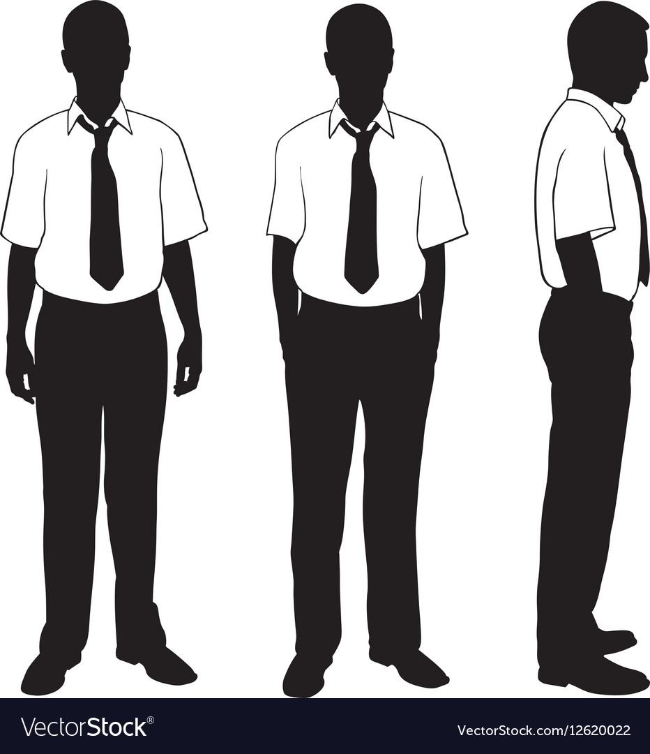Businessmen in shirt