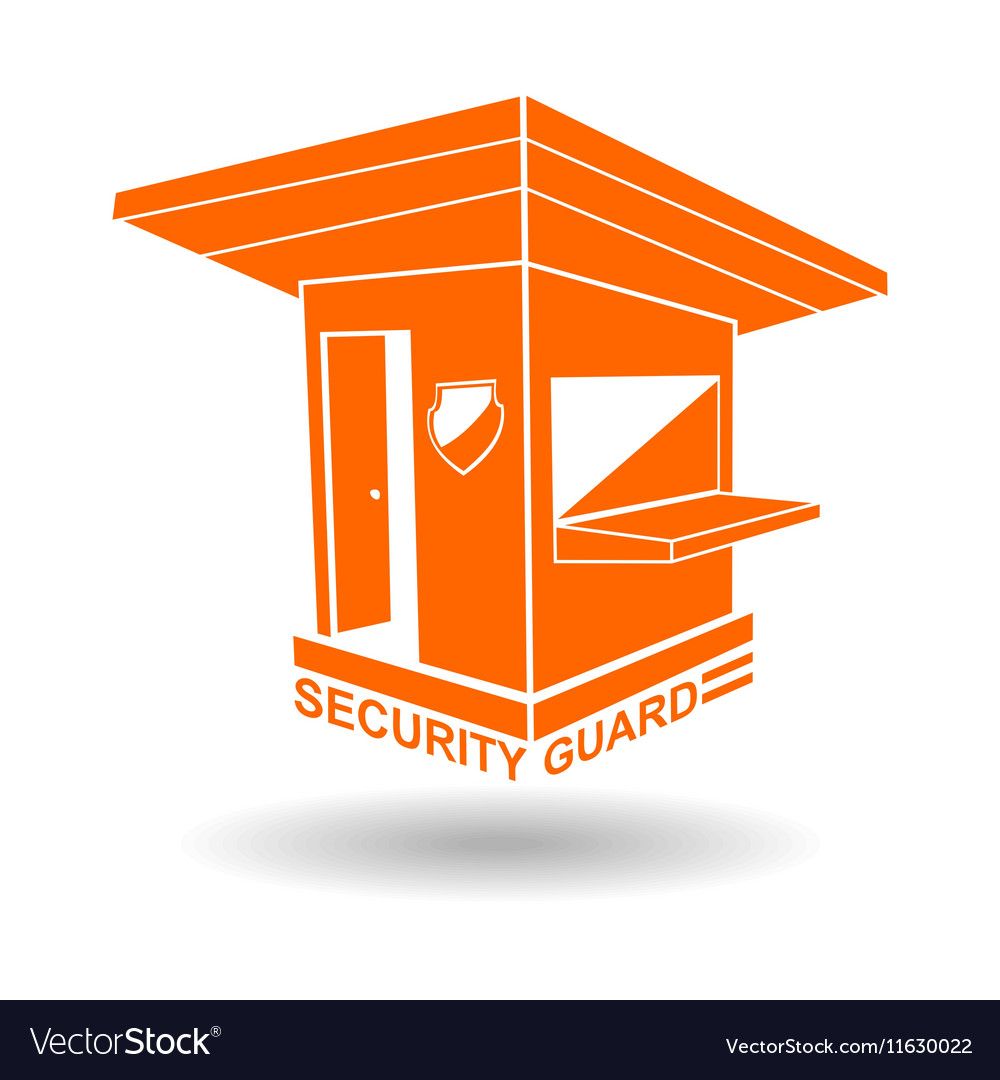 Guardhouse brand security guard logo