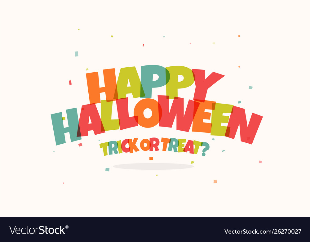 Happy children halloween holiday funny