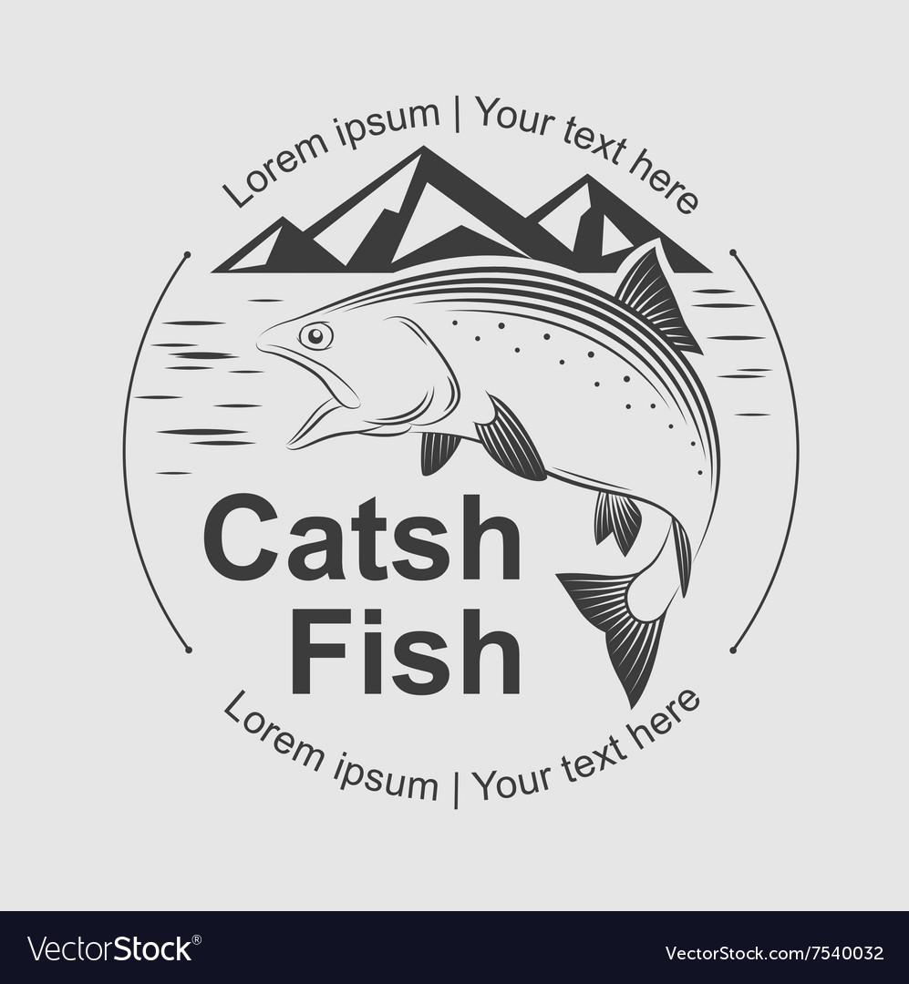 Catch fish symbol