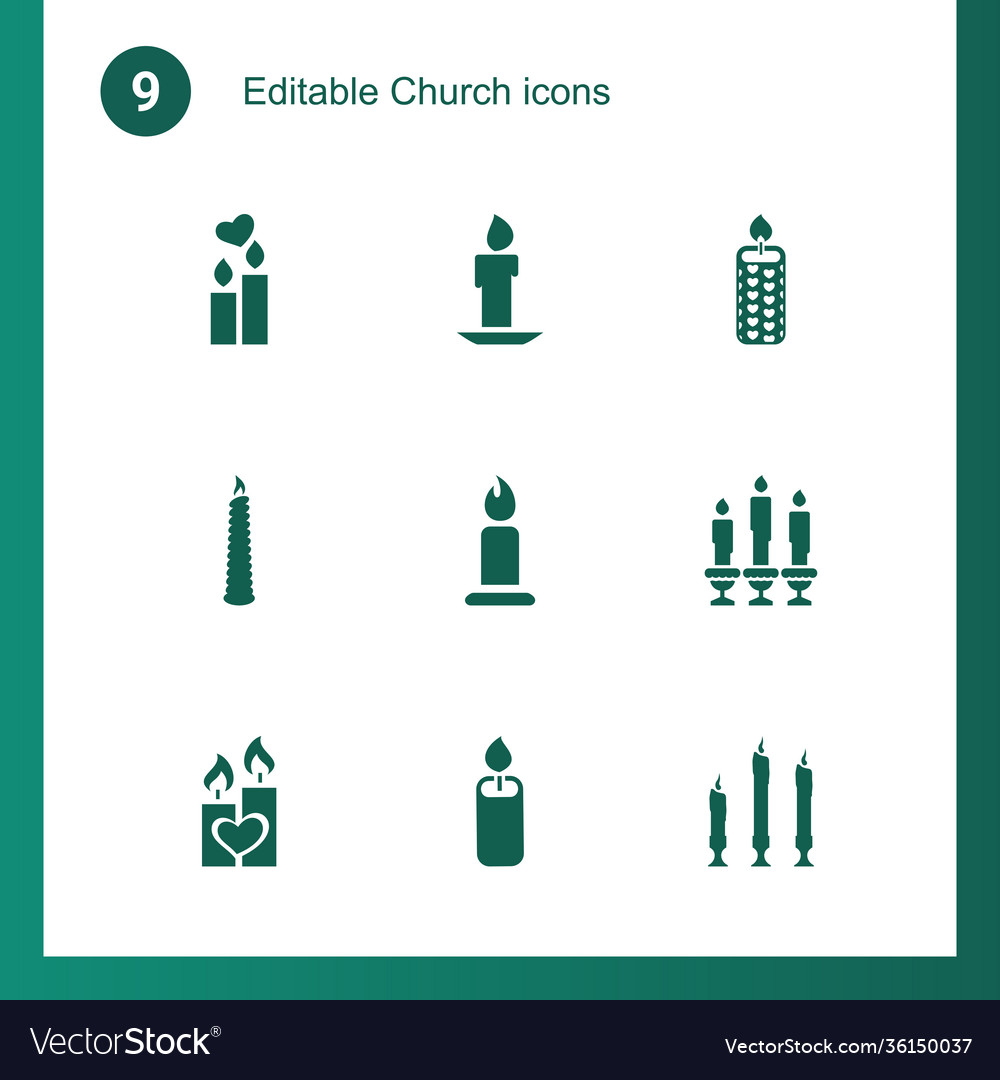 9 church icons