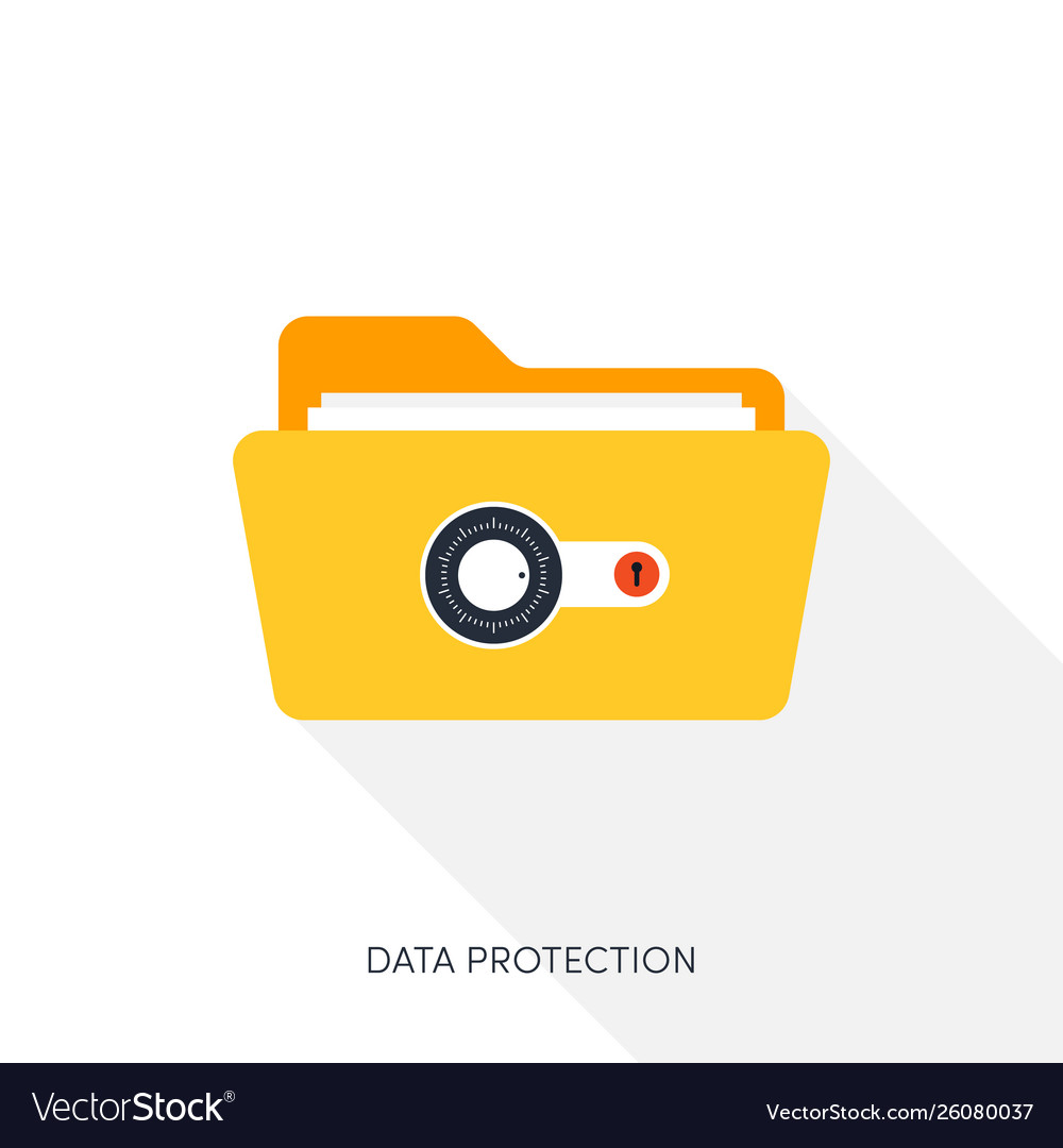 Internet security and data protection concept