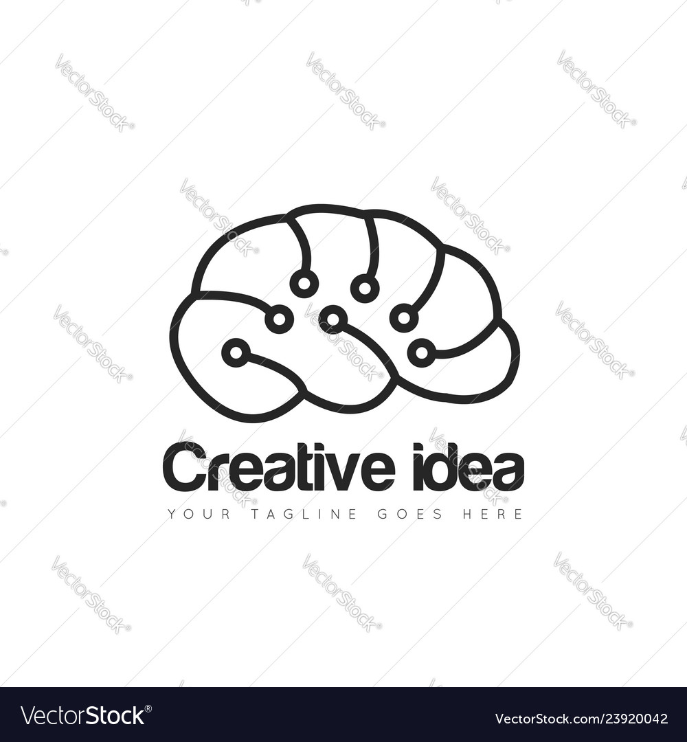 Brain logo and icon