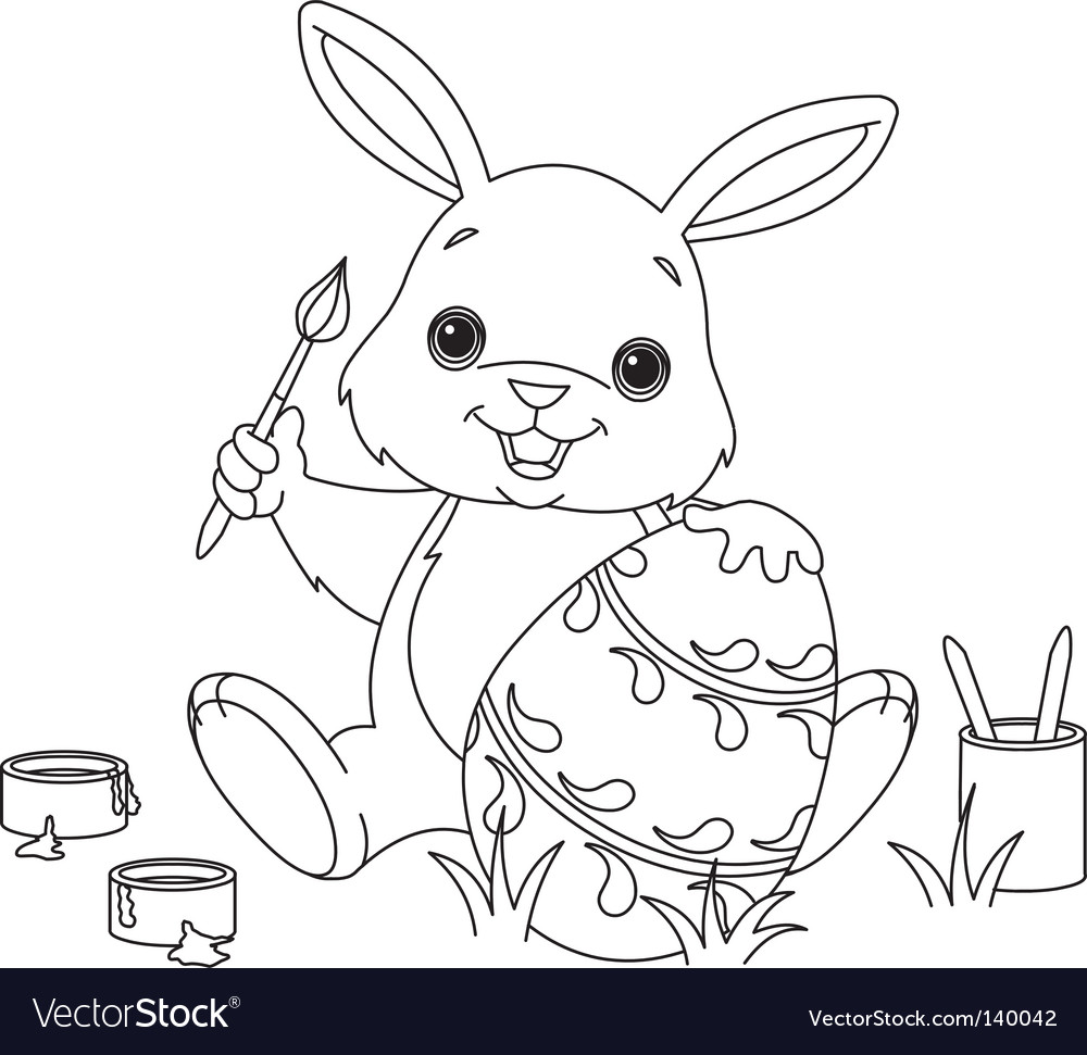 plain easter eggs coloring pages. Easter Egg Coloring Pages