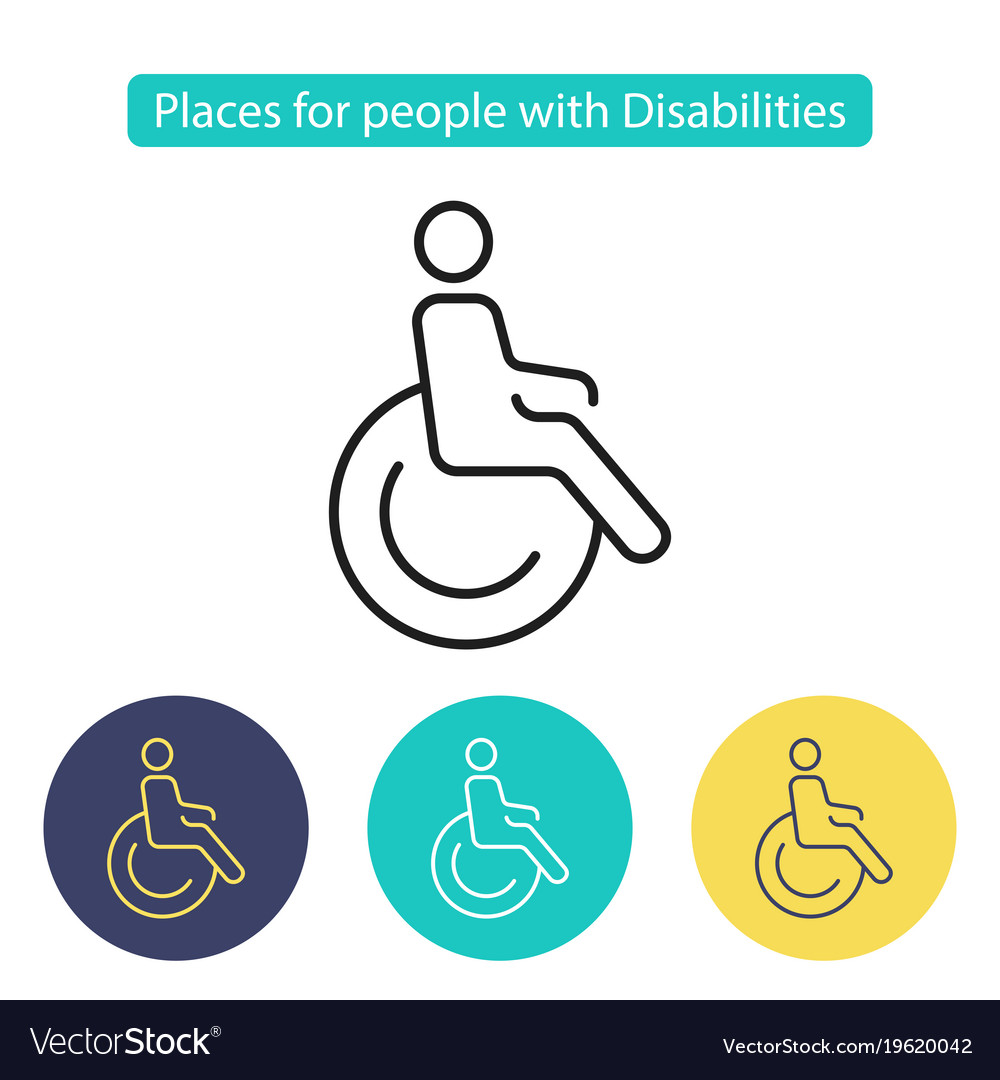 Places for people with disabilities