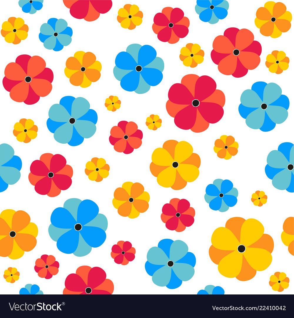 Seamless floral pattern seamless