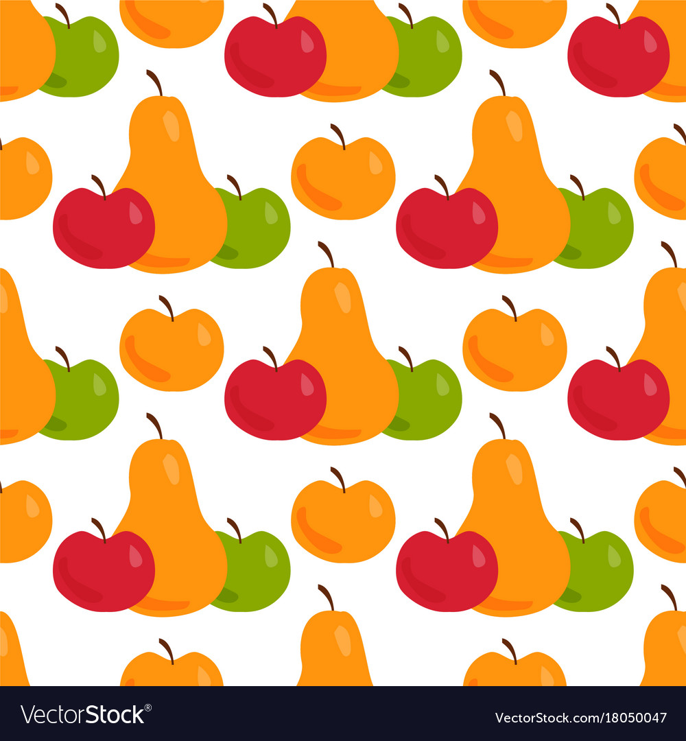 Apple background pear textile