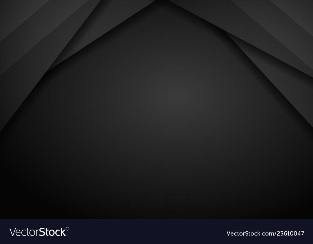 Black background overlap dimension grey message