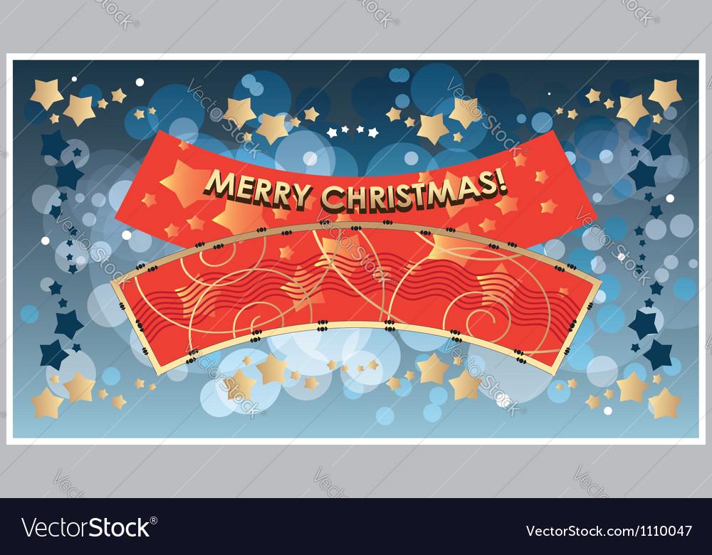 Greetings Template Merry Christmas