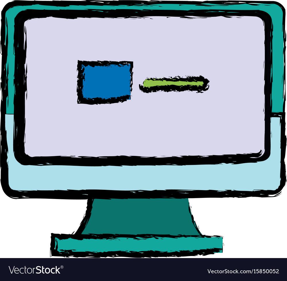 Monitor computer screen page web