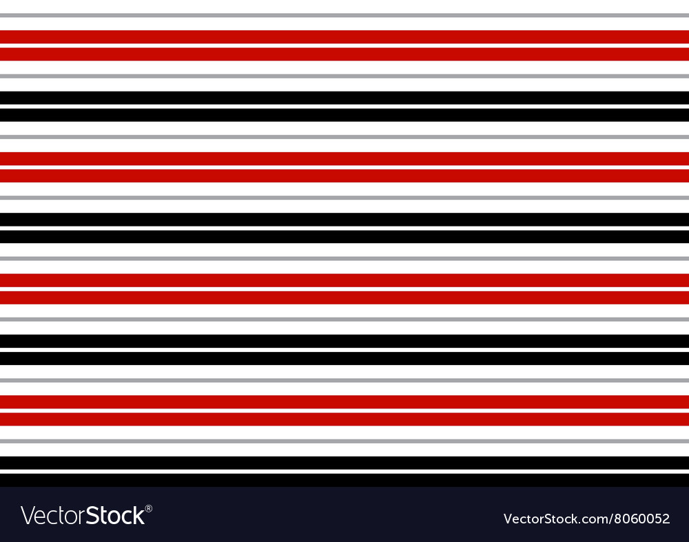 Red Black White Gray Stripes Background vector image