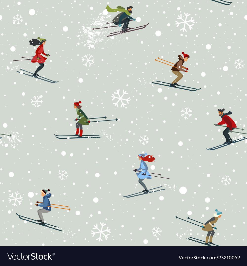 Seamless skiing