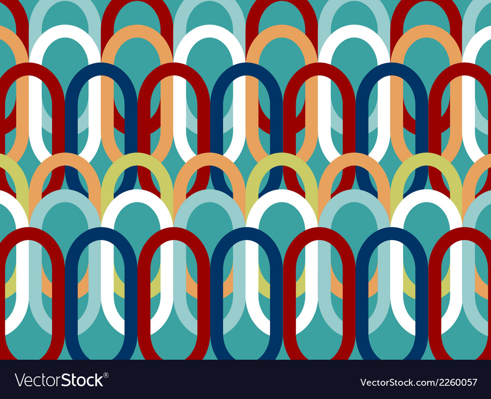 Colorful oval pattern abstract background