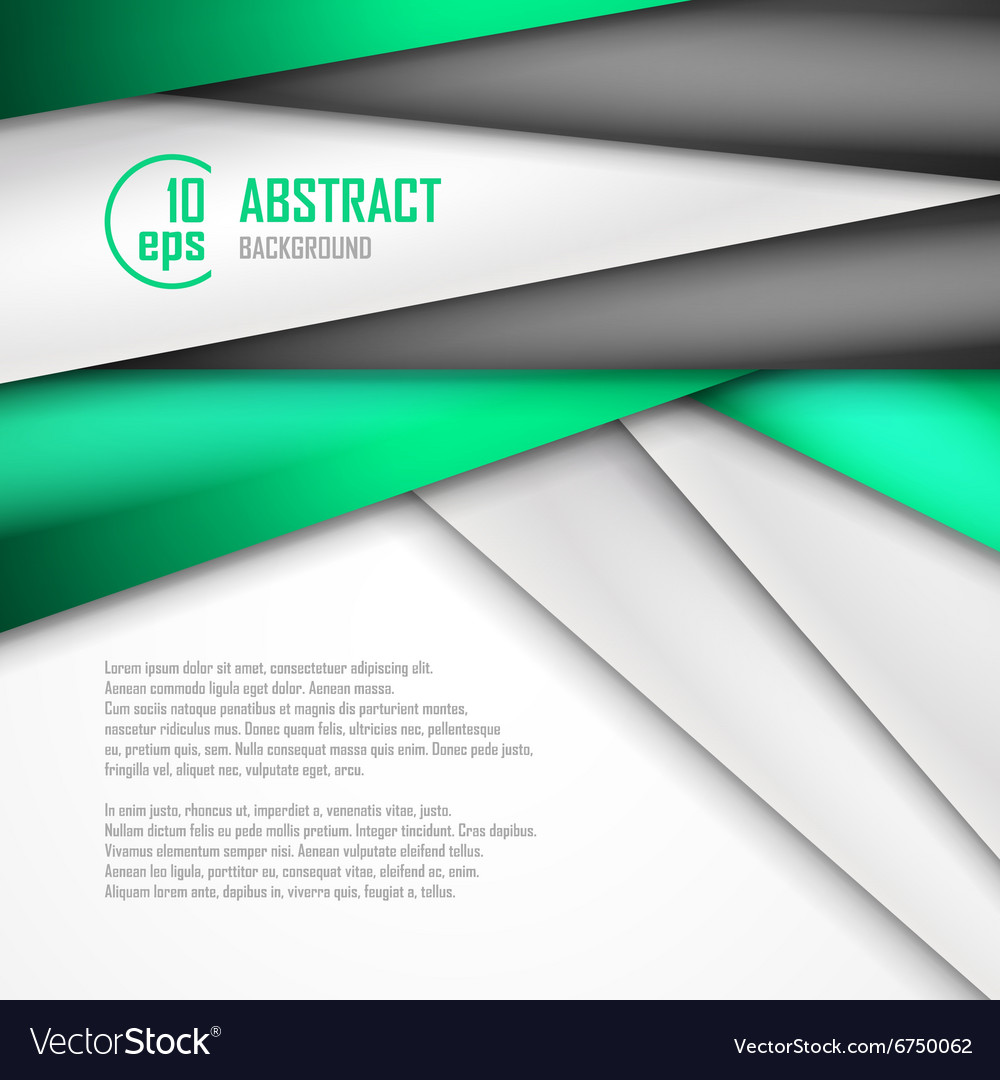 Abstract background of green white and black