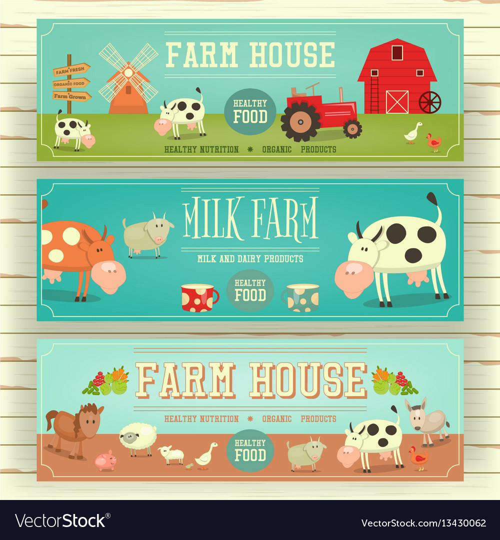 Farm house web banner hero image