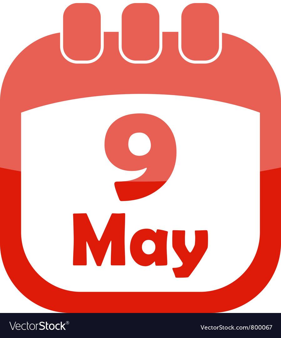 Картинки, картинки лист календаря 9 мая