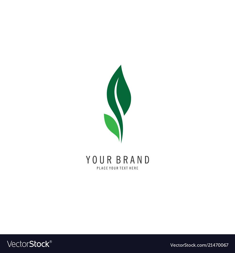 Leaf logo symbol