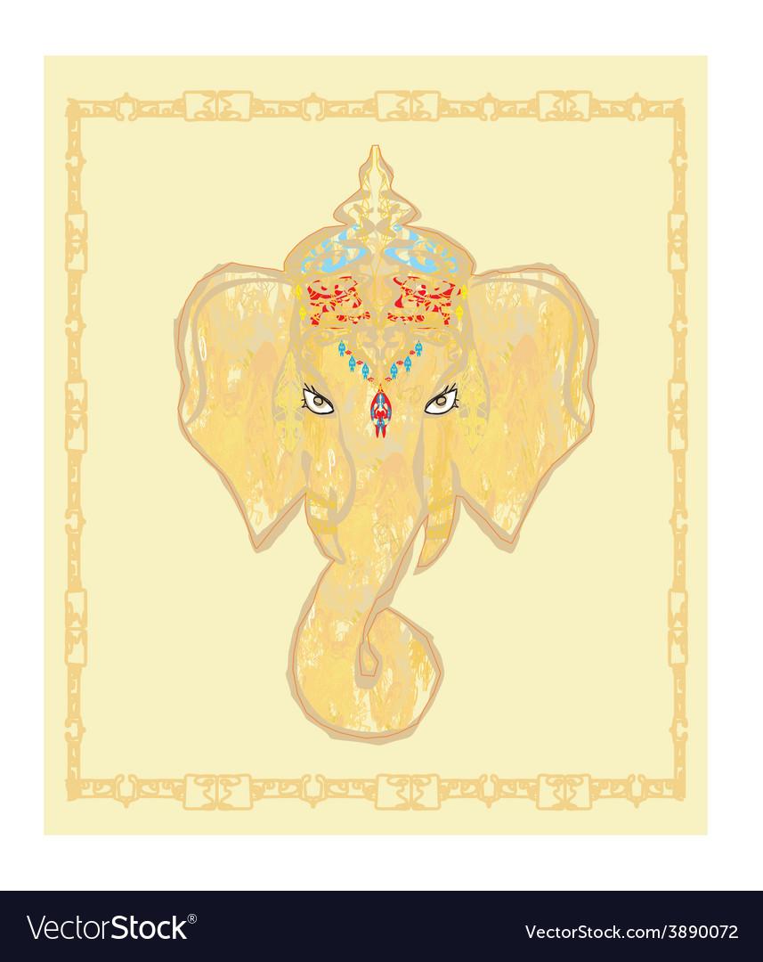 Creative of Hindu Lord Ganesha
