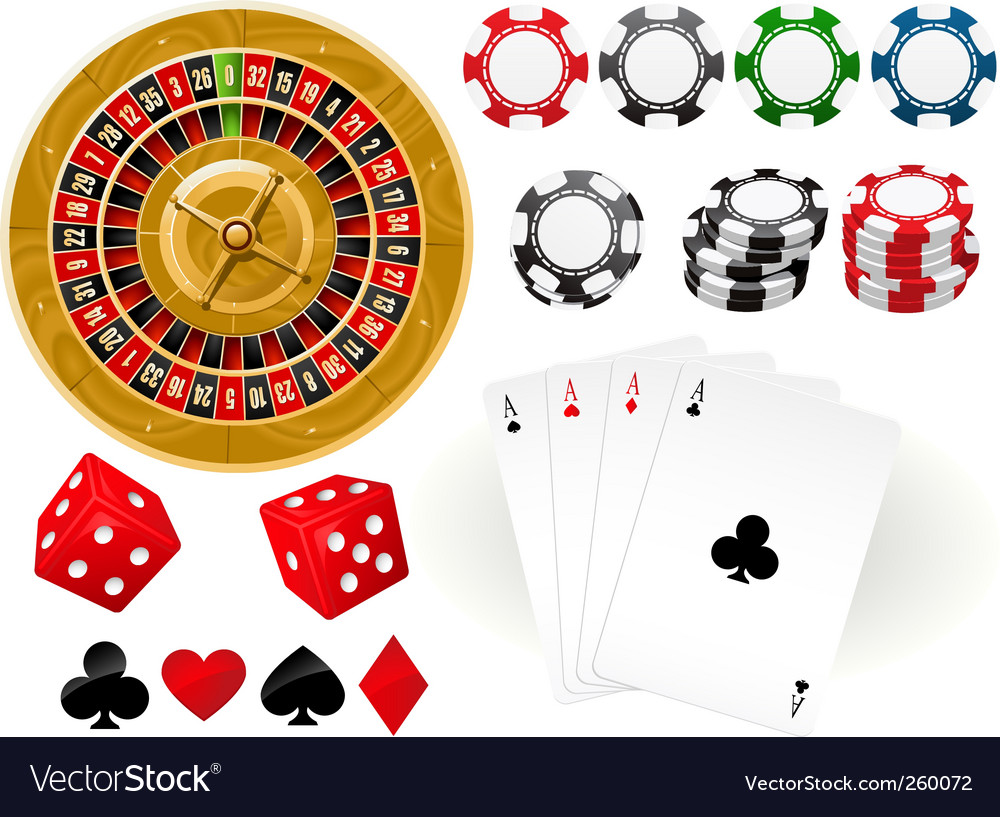 Gambling goodies vector image