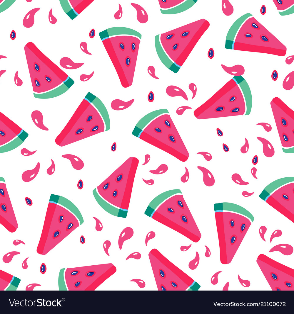 Summer seamless pattern seamless background vector