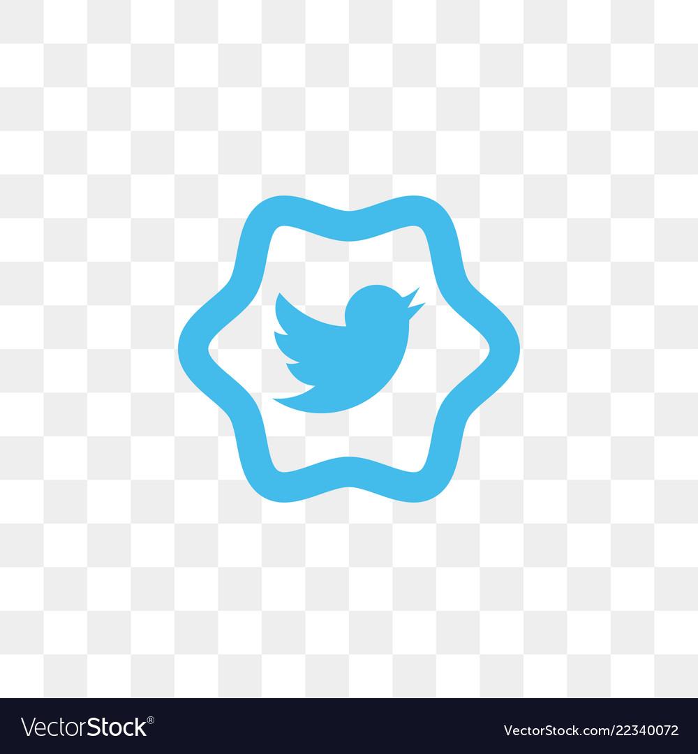 Twitter social media icon design template