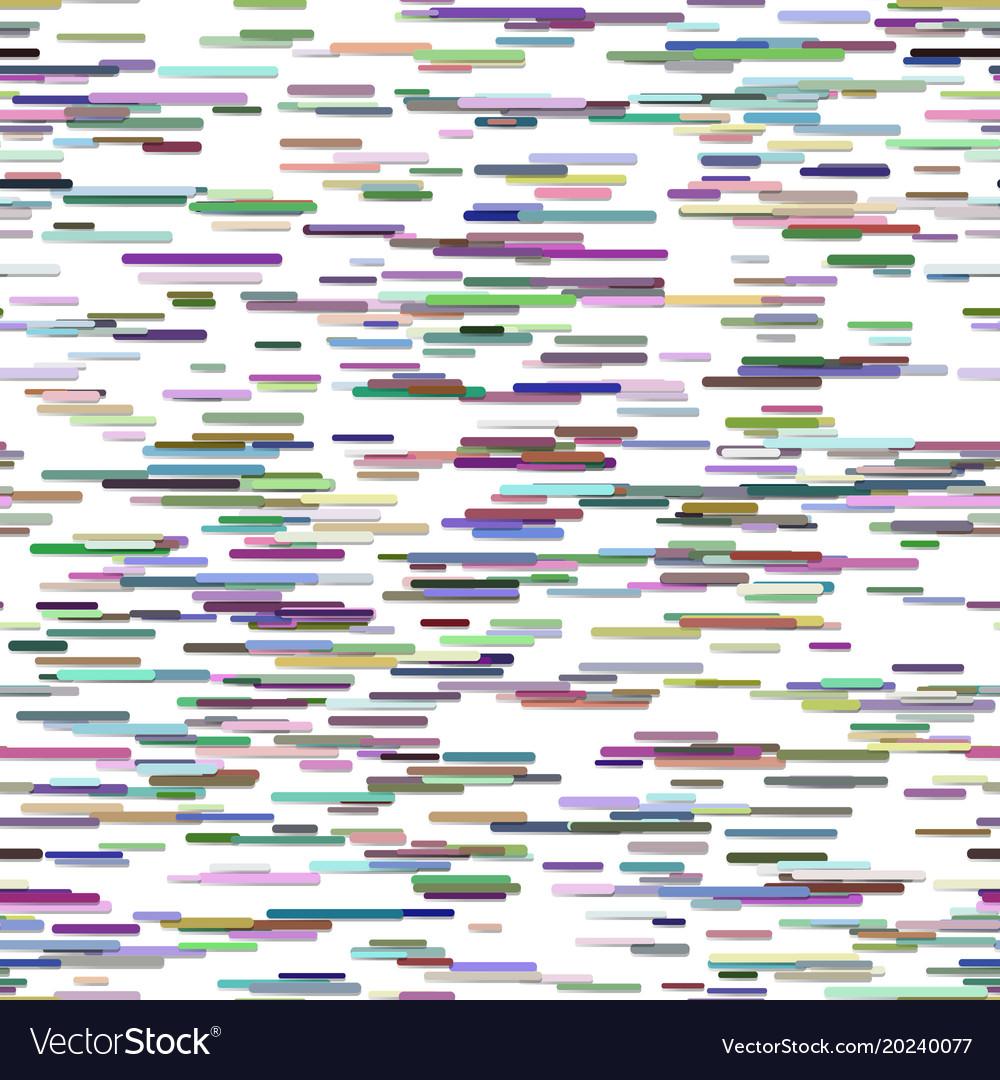 Seamless abstract irregular horizontal stripe vector image