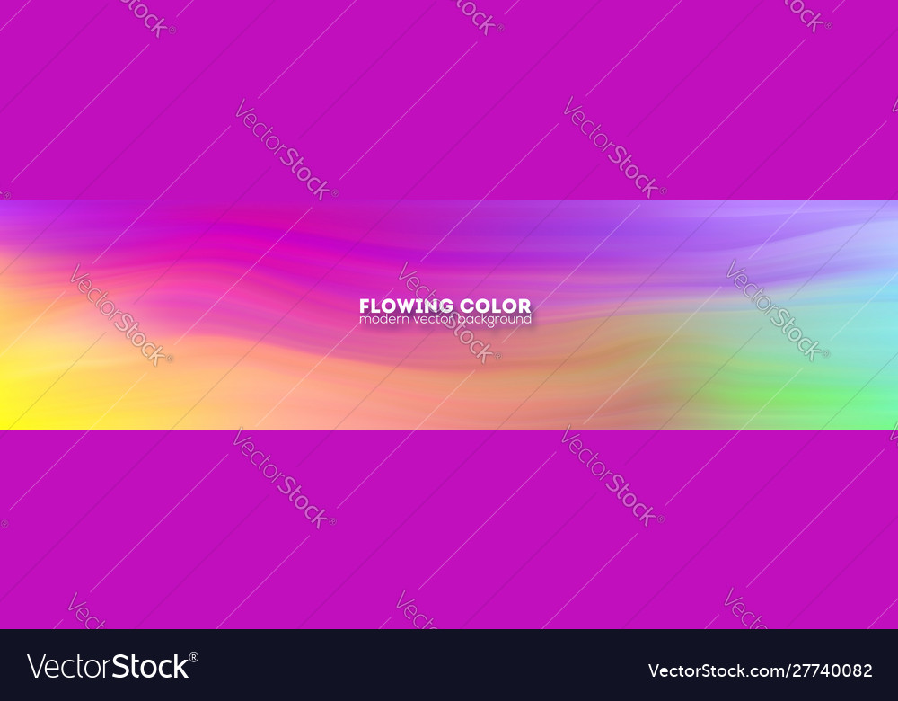 Abstract flowing smoothly pattern stream of