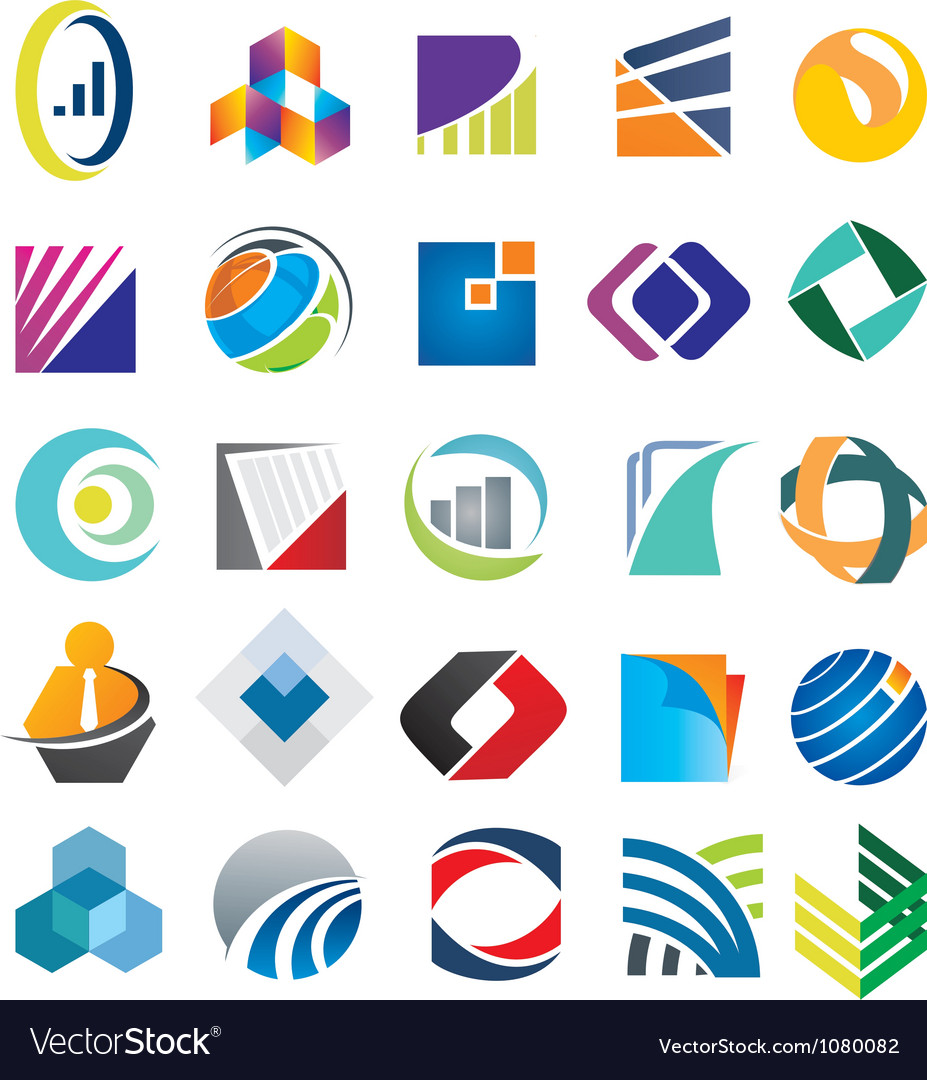 Business Pack Logo vector image