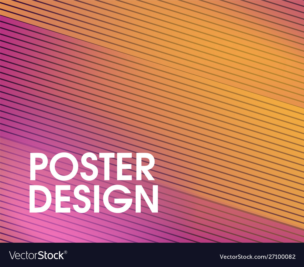 Colorful abstract modern geometrical design