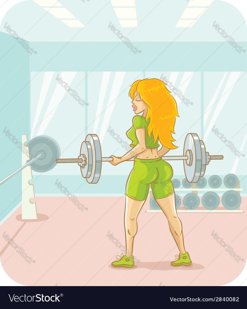 Girl fitness