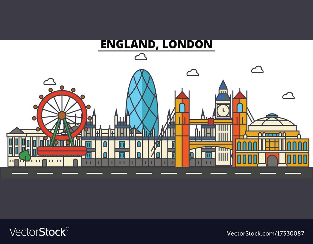 England london city skyline architecture