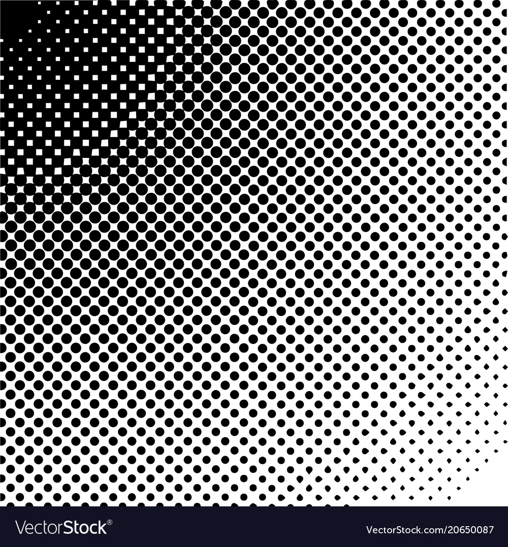 Halftone design elements halftone gradient
