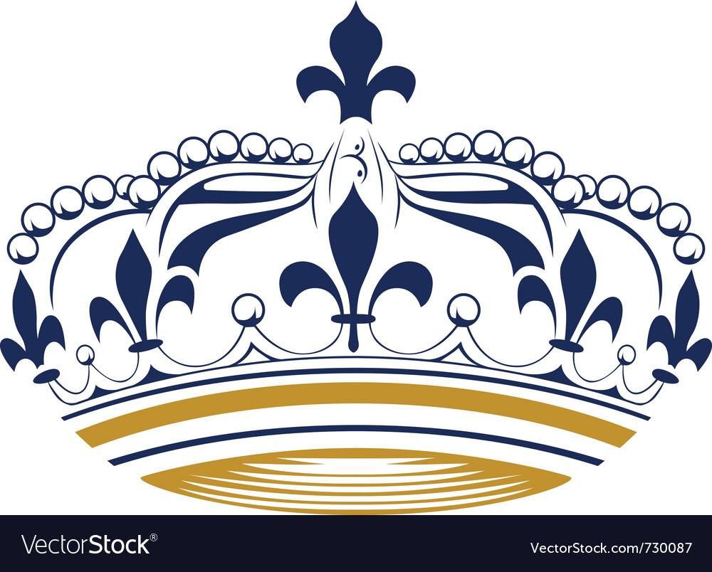 retro king crown royalty free vector image vectorstock rh vectorstock com Queen Crown Vector kings crown vector clip art royalty free