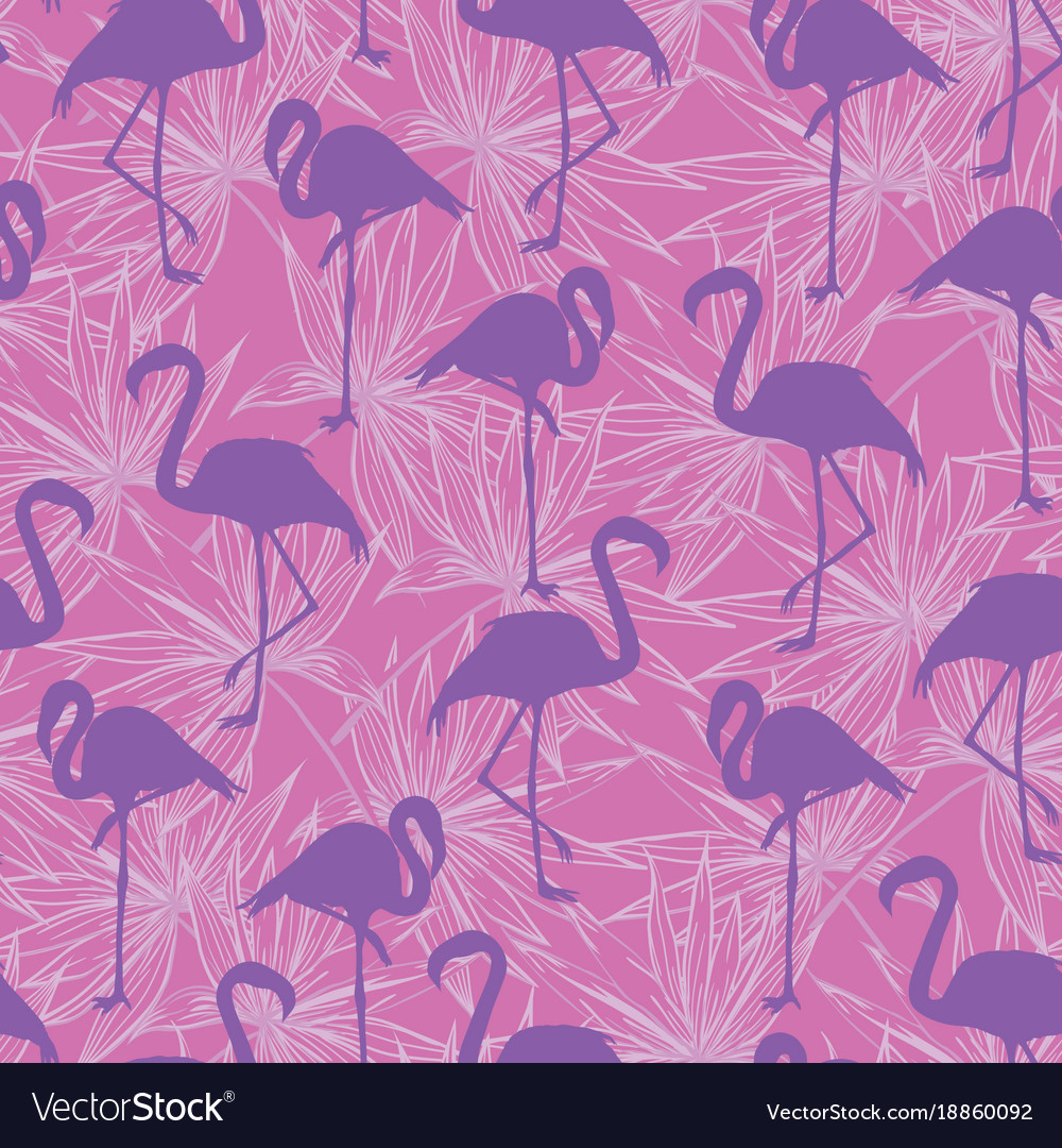 Beautiful seamless tropical pattern background