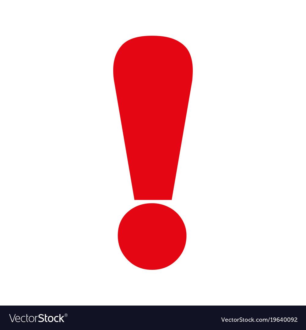 Восклицательный знак в картинках красный