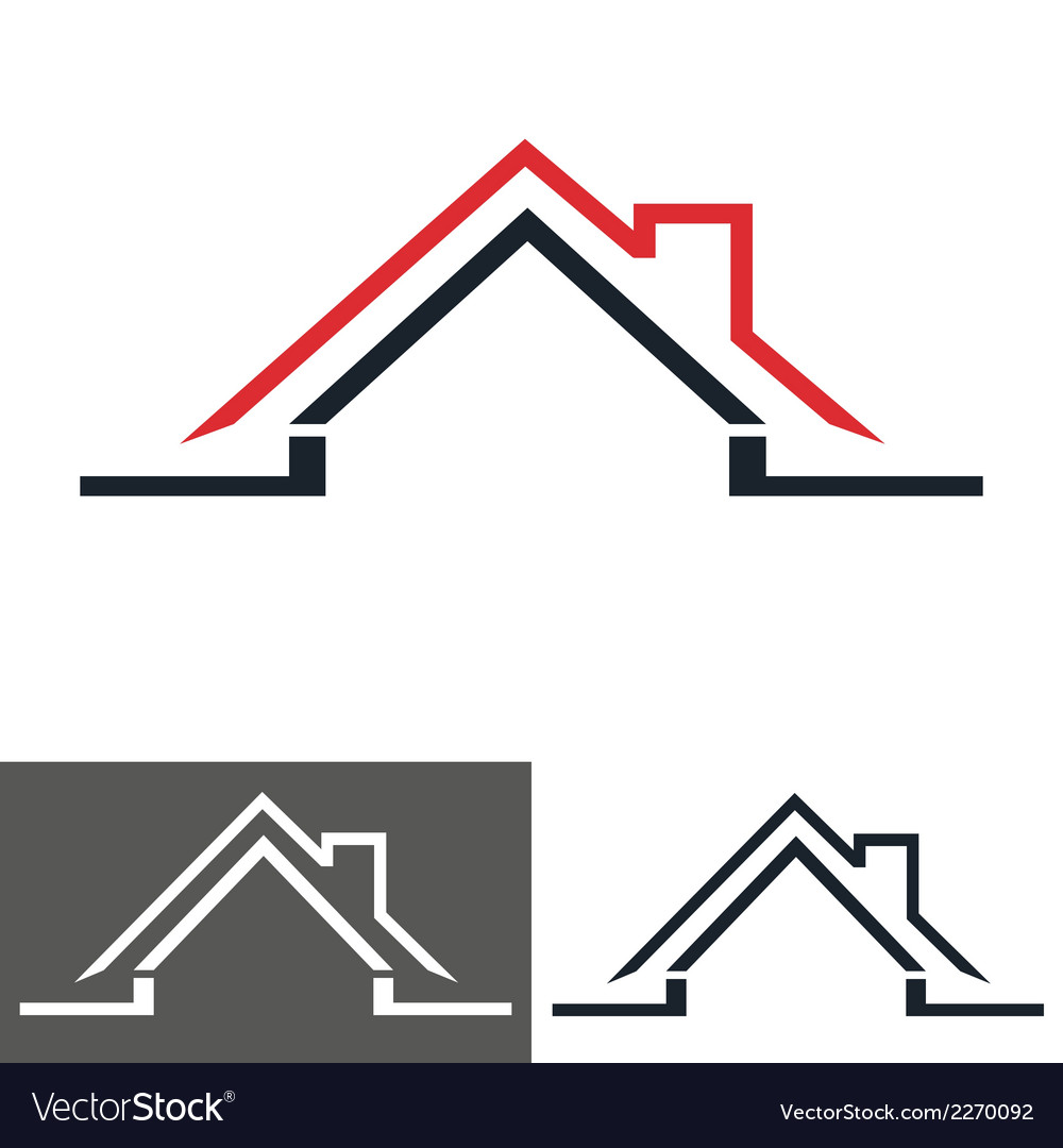 House home logo icon Royalty Free Vector Image