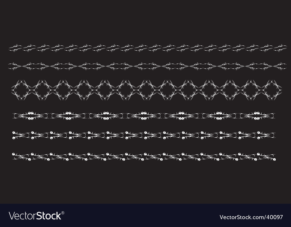 Chain elements vector image