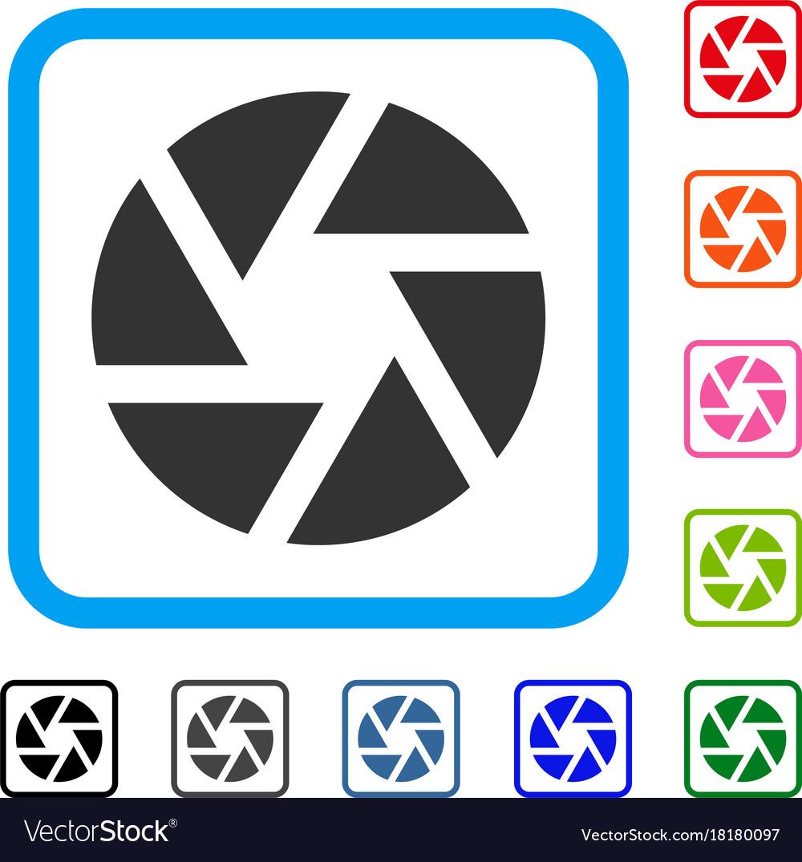Shutter Framed Icon