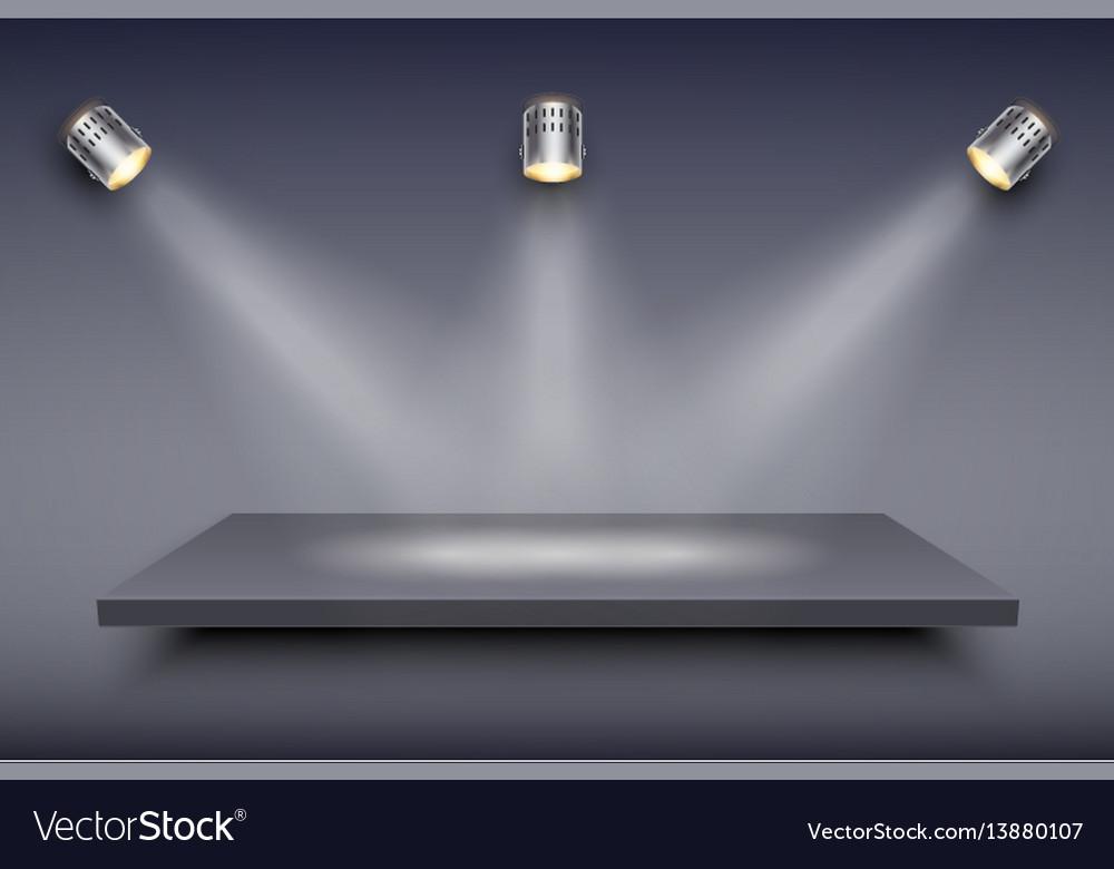 Black presentation platform