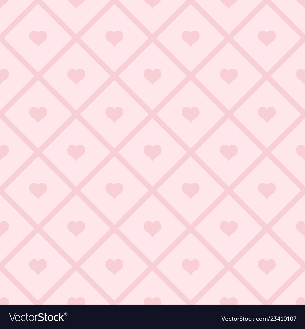 Hearts seamless pattern valentines day background