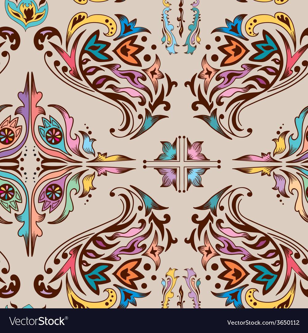 Colorful swirl pattern