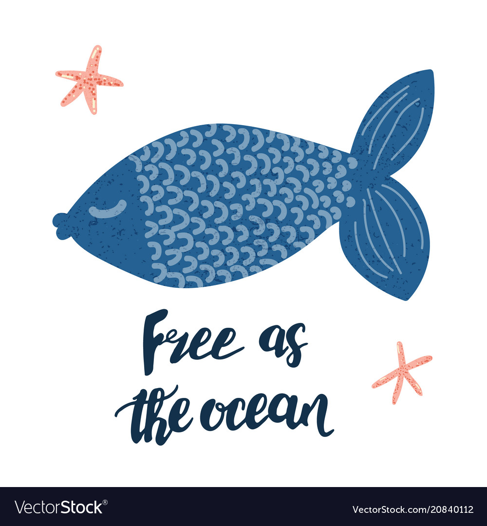 Free as the ocean poster