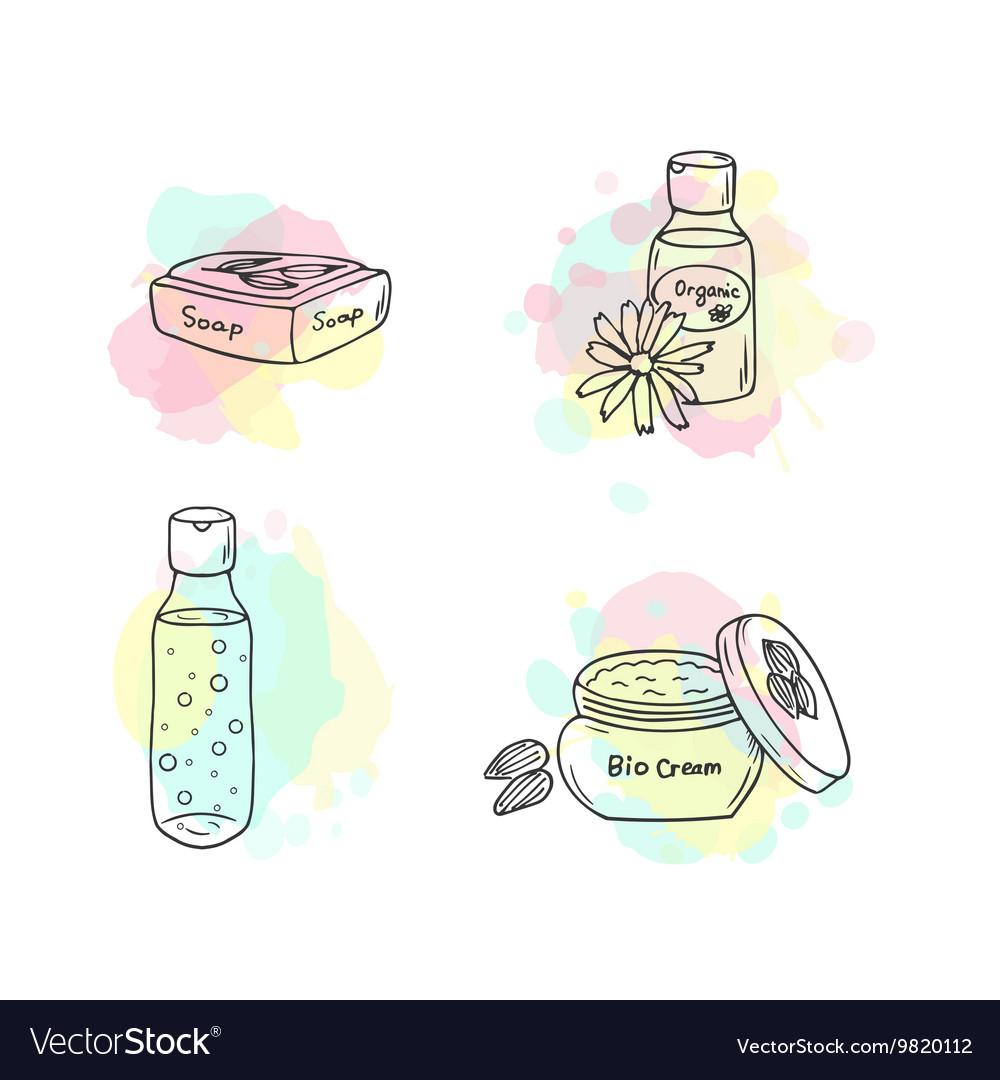 Organic cosmetics cosmetic