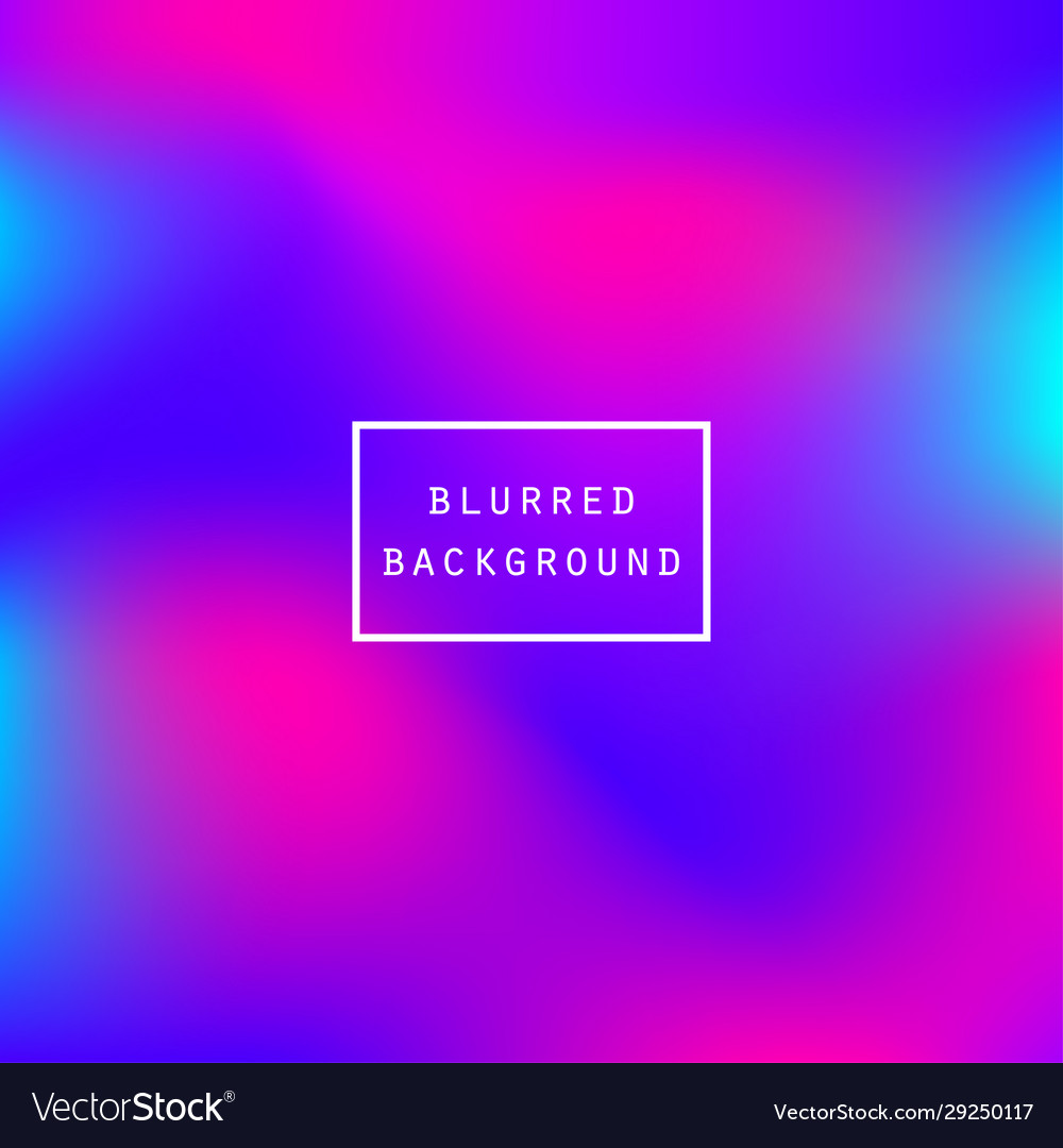 Abstract blurred vibrant colors gradient